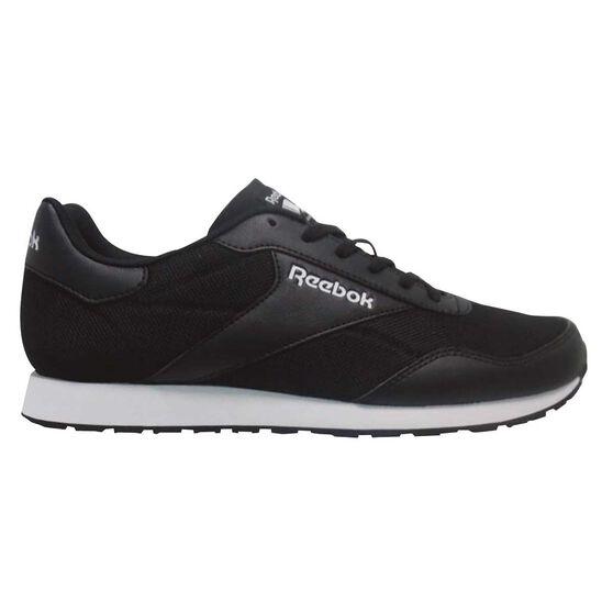 b1b96ed36a221f Reebok Royal Dimension Mens Casual Shoes Black   White US 9