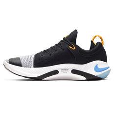 Nike Joyride Run Flyknit Mens Running Shoes Black / Orange US 7, Black / Orange, rebel_hi-res