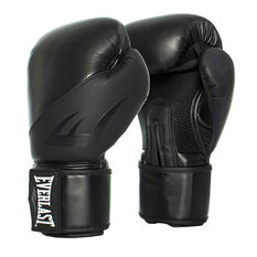 Everlast Ex Boxing Gloves Black 12oz, Black, rebel_hi-res