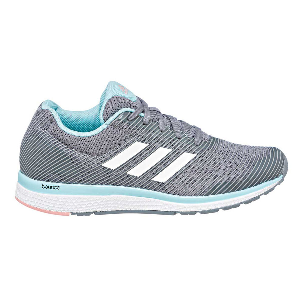 8a4a1889d adidas Mana Bounce 2.0 Girls Running Shoes Grey   White US 6