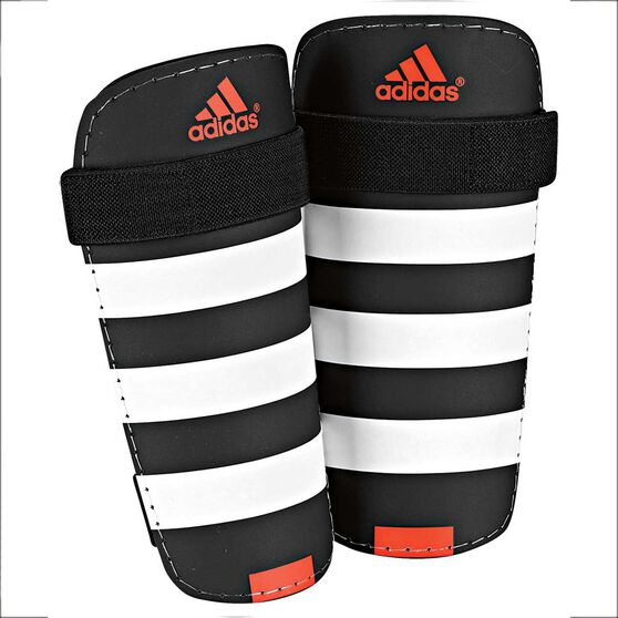 Adidas Everlite Shin Guards, Black / White, rebel_hi-res