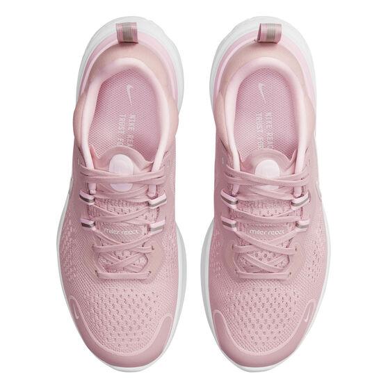 Nike React Miler 2 Womens Running Shoes, Pink/White, rebel_hi-res