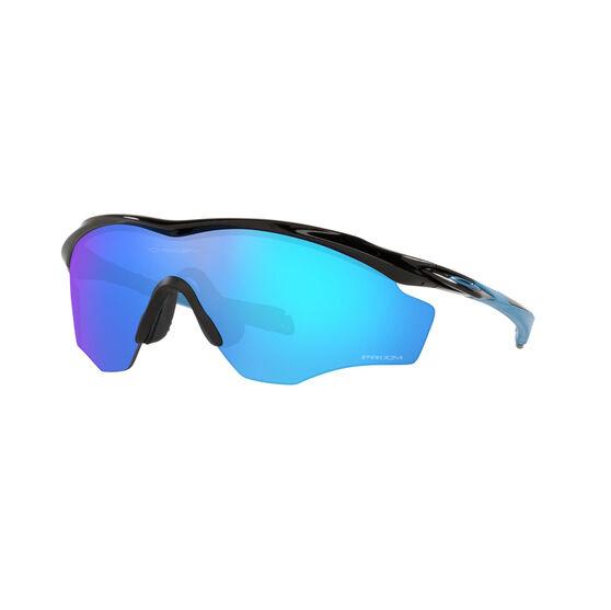 OAKLEY M2 Frame XL Sunglasses - Polished Black with PRIZM Sapphire, , rebel_hi-res