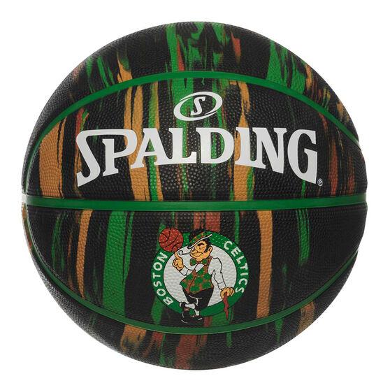 Spalding NBA Team Boston Celtics Marble Basketball, , rebel_hi-res