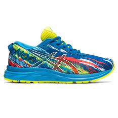 Asics GEL Noosa Tri 13 Kids Running Shoes Blue US 1, Blue, rebel_hi-res