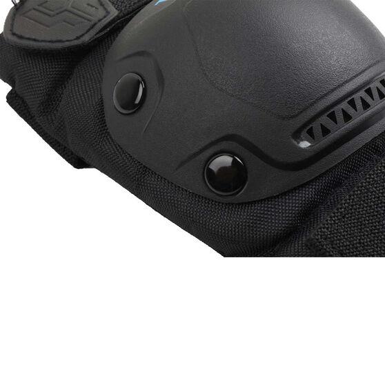 Tahwalhi 3 Piece Safety Pads, Black, rebel_hi-res