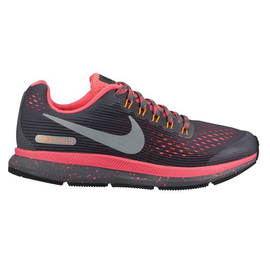 1fed5af9c0c Nike Zoom Pegasus 34 Kids Running Shoes Grey   Pink US 4
