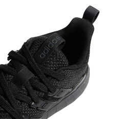 adidas Questar Flow Kids Running Shoes, Black, rebel_hi-res