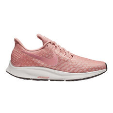 Nike Air Zoom Pegasus 35 Womens Running Shoes Pink / White US 6, Pink / White, rebel_hi-res