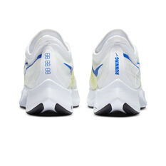 Nike Zoom Fly 3 Womens Running Shoes, White/Silver, rebel_hi-res