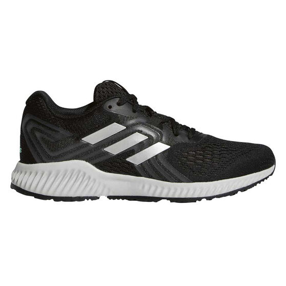 adidas Aerobounce 2 Womens Running Shoes, Black, rebel_hi-res