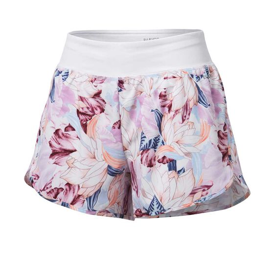Ell & Voo Womens Ellie 2 In 1 Shorts, Print, rebel_hi-res