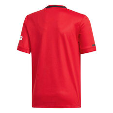 Manchester United 2019/20 Kids Home Jersey Red 10, Red, rebel_hi-res