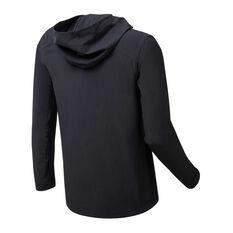Sydney FC 2019/20 Mens Rain Jacket Black S, Black, rebel_hi-res