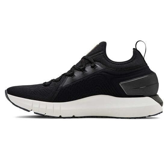 Under Armour HOVR Phantom SE Mens Running Shoes, Black / White, rebel_hi-res