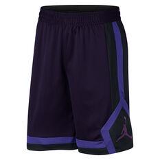 Nike Mens Jordan Rise 1 Basketball Shorts Black S, Black, rebel_hi-res