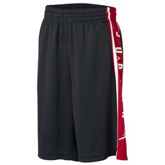 Nike Boys Air Jordan HBR Shorts Black / Red S, Black / Red, rebel_hi-res