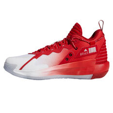 adidas Dame 7 Opponent Advisory Basketball Shoes White US 7, White, rebel_hi-res