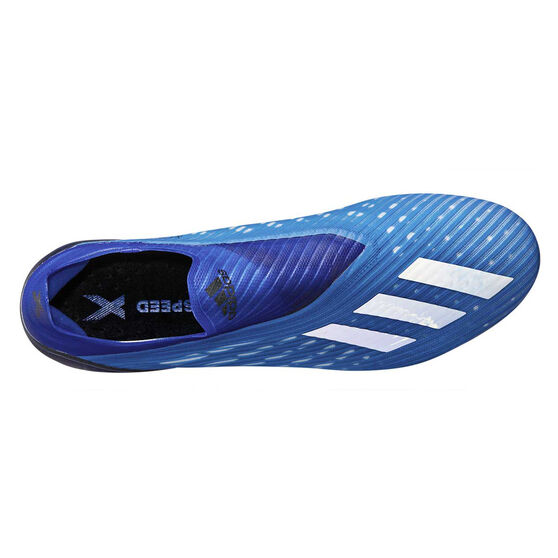 adidas X 19+ Football Boots, Blue / White, rebel_hi-res