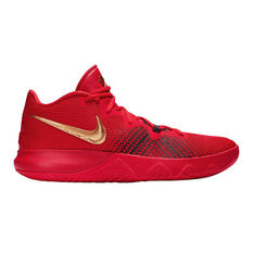 Nike Kyrie Flytrap Mens Basketball Shoes, Red / Black, rebel_hi-res