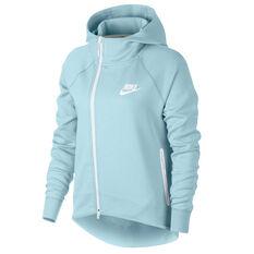 Nike Womens Sportswear Tech Fleece Cape Topaz XS, Topaz, rebel_hi-res
