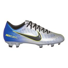 Nike Mercurial Victory VI NJR Mens Football Boots Blue / Silver US 7 Adult, Blue / Silver, rebel_hi-res