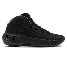 Under Armour HOVR Havoc 2 Mens Basketball Shoes Black US 7, Black, rebel_hi-res