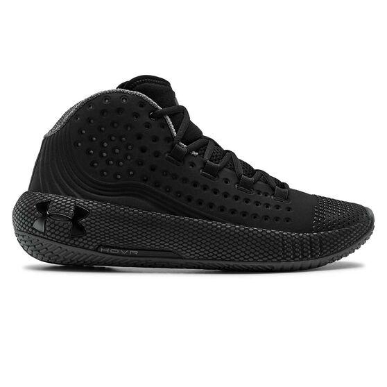 Under Armour HOVR Havoc 2 Mens Basketball Shoes, Black, rebel_hi-res