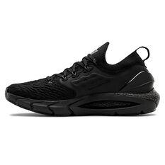 Under Armour HOVR Phantom 2 Mens Running Shoes Black US 7, Black, rebel_hi-res