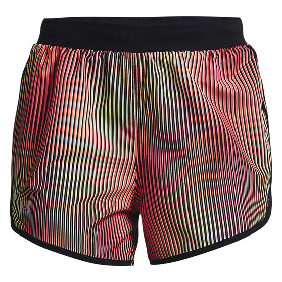 Under Armour Womens Fly By 2.0 Chroma Shorts, Pink, rebel_hi-res