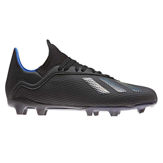 adidas X 18.3 Kids Football Boots, Black, rebel_hi-res