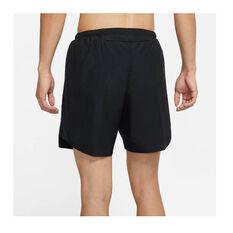 Nike Mens Challenger Dri-FIT Brief Lined Running Shorts Black S, Black, rebel_hi-res