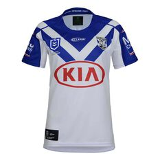 Canterbury-Bankstown Bulldogs 2019  Women's Home Jersey White / Blue 8, , rebel_hi-res