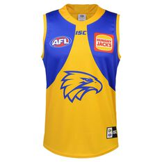 West Coast Eagles 2020 Kids Away Guernsey Blue / Yellow 6, , rebel_hi-res