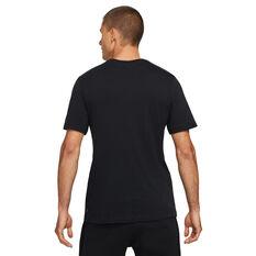 Nike F.C. Mens Graphic Tee Black S, Black, rebel_hi-res