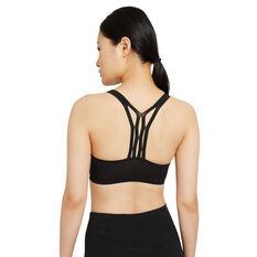 Nike Womens Indy UltraBreathe Sports Bra Black XS, Black, rebel_hi-res