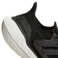 adidas Ultraboost 21 Womens Running Shoes, Black, rebel_hi-res