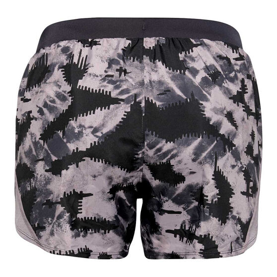 Under Armour Womens Fly By 2.0 Shorts, Purple, rebel_hi-res