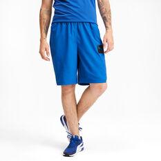 Puma Mens Tec Sports Woven Shorts, Blue, rebel_hi-res