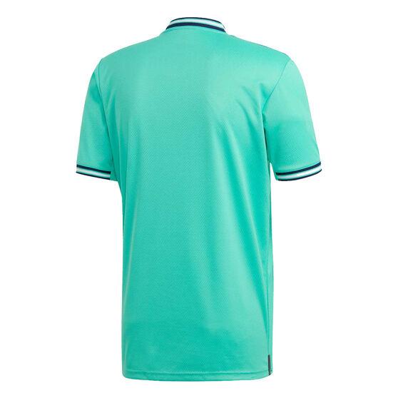 Real Madrid CF 2019/20 Mens 3rd Jersey Green M, Green, rebel_hi-res