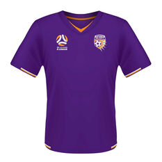 Perth Glory Mens Supporter Jersey, Purple, rebel_hi-res