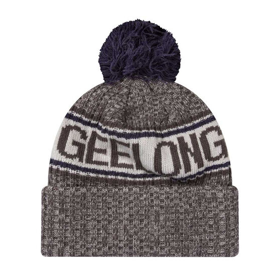Geelong Cats New Era 6 Dart Cuff Beanie, , rebel_hi-res