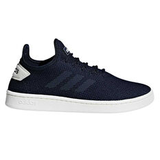 87c112648 adidas Court Adapt Mens Casual Shoes Blue   White US 5