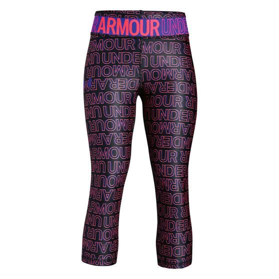 Under Armour Girls HeatGear Armour Novelty Tights, , rebel_hi-res