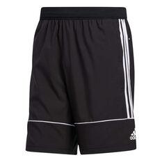 adidas Mens Primeblue Shorts, Black, rebel_hi-res