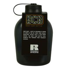 Russell Athletics Boot Camp 1L Water Bottle 1L Black, , rebel_hi-res