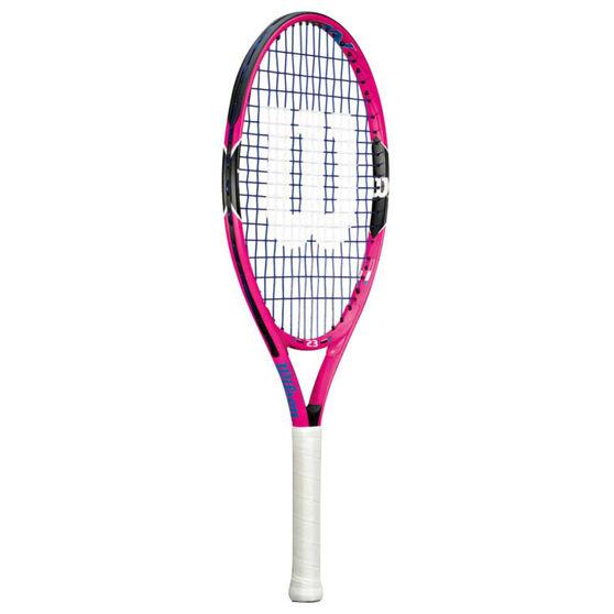 Wilson Burn Pink 23 Junior Tennis Racquet Pink / Back 23in, , rebel_hi-res