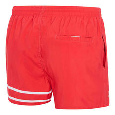 Speedo Mens 90s Letterman Watershorts Red / White S, Red / White, rebel_hi-res