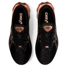 Asics Novablast Platinum Womens Running Shoes, Black, rebel_hi-res