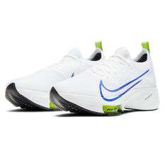 Nike Air Zoom Tempo Next% Mens Running Shoes, White/Blue, rebel_hi-res